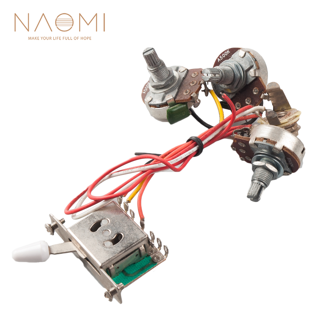 [SCHEMATICS_4HG]  Naomi HOT Electric Guitar Parts Wiring Harness 3 large knob +1 interface +1  five segment switch New|Guitar Parts & Accessories| - AliExpress | Large Wiring Harness |  | AliExpress
