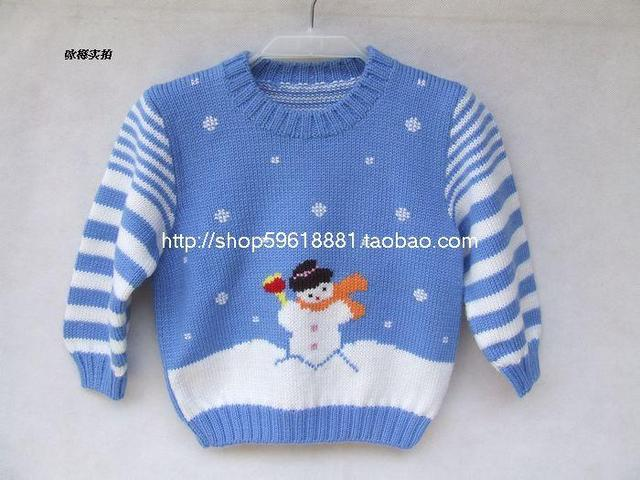 Hand Knitted clothing for baby boys girl knitted Pullover sweater spring autumn  Baby clothing wear Sweaters baby boy winter 309B ab9b9c601
