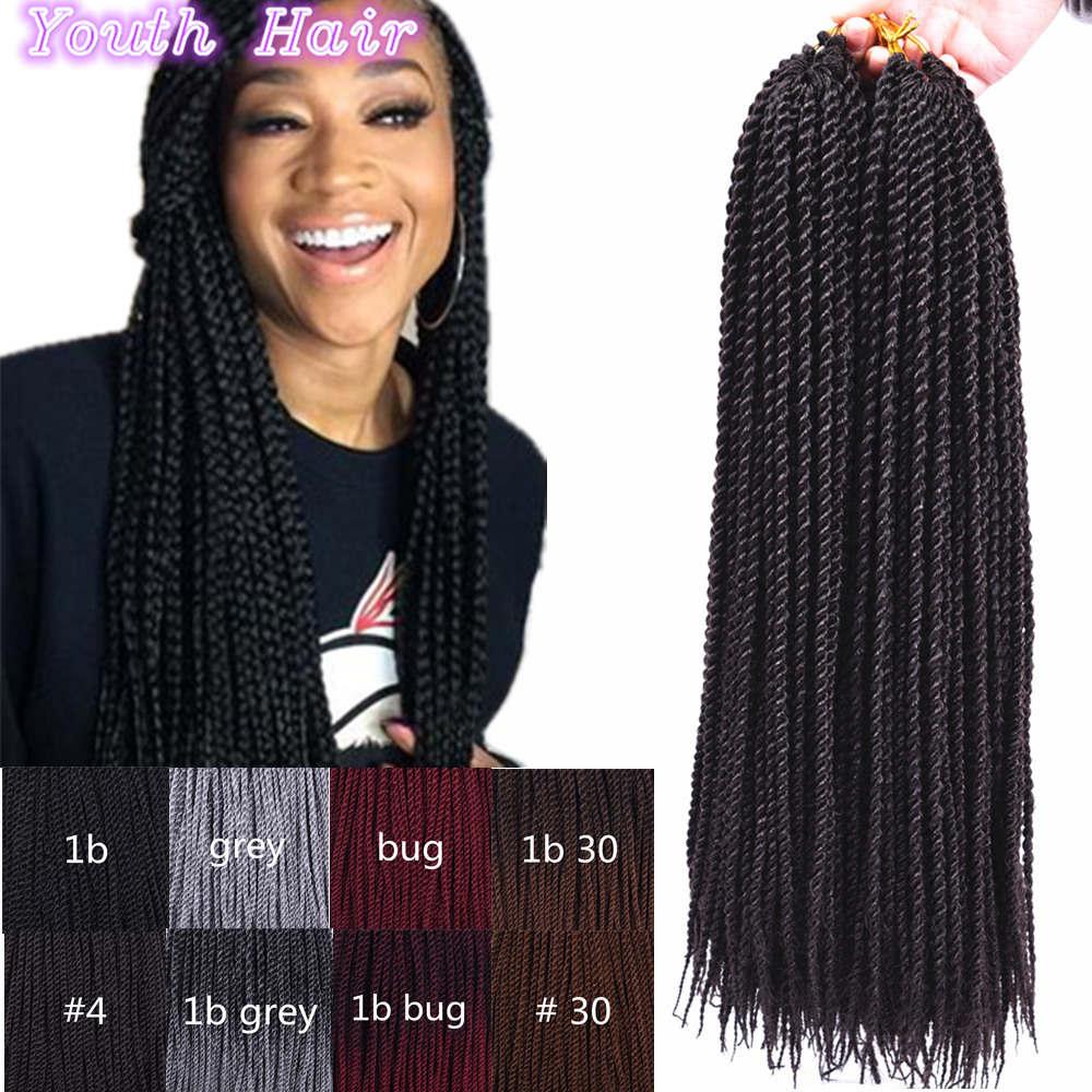 Sale Crochet Hair Braids Box Braid Kinky Yaki Hair For Crochet Braids ...