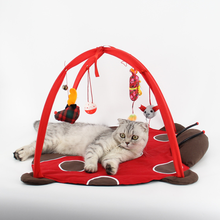 Cute Cat Bed House Animal Shaped Tent with Toys Warmer Basket for Cats Sleeping Nest Cushion Pet Products