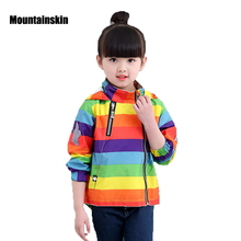 Mountainskin New Boys Girls Jacket Children's Jackets clothing 12M-8Y Kids Coats Spring Autumn Baby Windbreaker Outerwears SC810