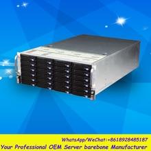 Стабильный огромный хранения 36 отсеков 4u hotswap стойки NVR NAS сервера шасси R46536