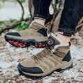 Мужская обувь для пеших прогулок  уличные Зимние теплые кроссовки  Мужская Удобная Высококачественная спортивная обувь для пеших прогулок ...