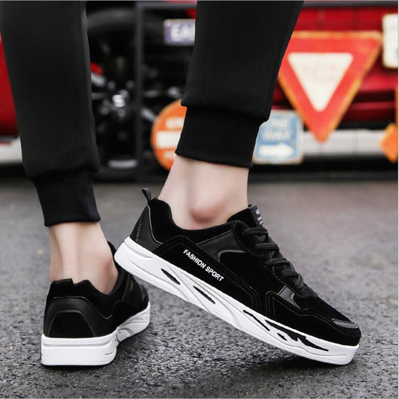 2018 스프링 보드 신발 한국어 버전 여러 가지 빛깔의 - 남성용 신발 - 사진 3