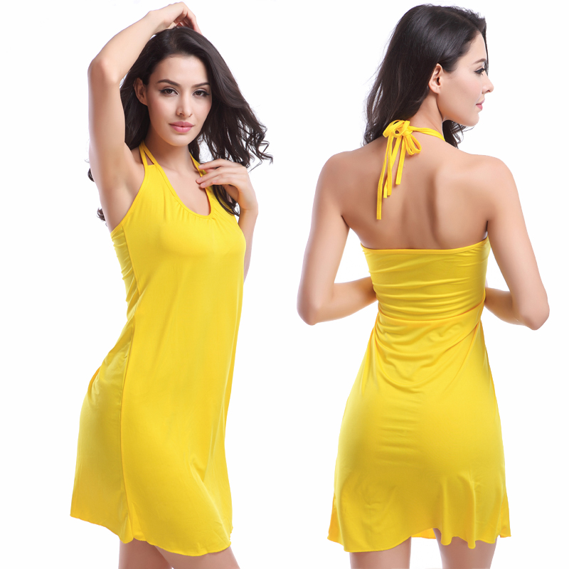 Hot Victoria Style Vintage Spaghetti Straps V Neck 11 Colors Holiday Crochet Dress Female Beachwear S.M.L.XL