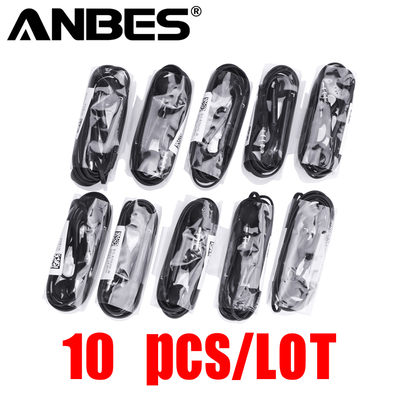 ANBES 10 pieces/lot 3.5mm In-ear Headphones For S6 Earphone With Microphone For MP3 4 Samsung Galaxy S8 S7 S6 Edge...  samsung headphones s7 | Samsung Galaxy S7 & S7 edge Headphones / Earbuds Review ANBES 10 pieces lot 3 5mm In ear font b Headphones b font For S6 Earphone