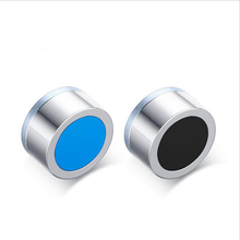2 Pair 316l Stainless Steel Magnet Ear Earrings For Unisex Magnetic Round Stud Men lovers Jewelry Fashion Canal