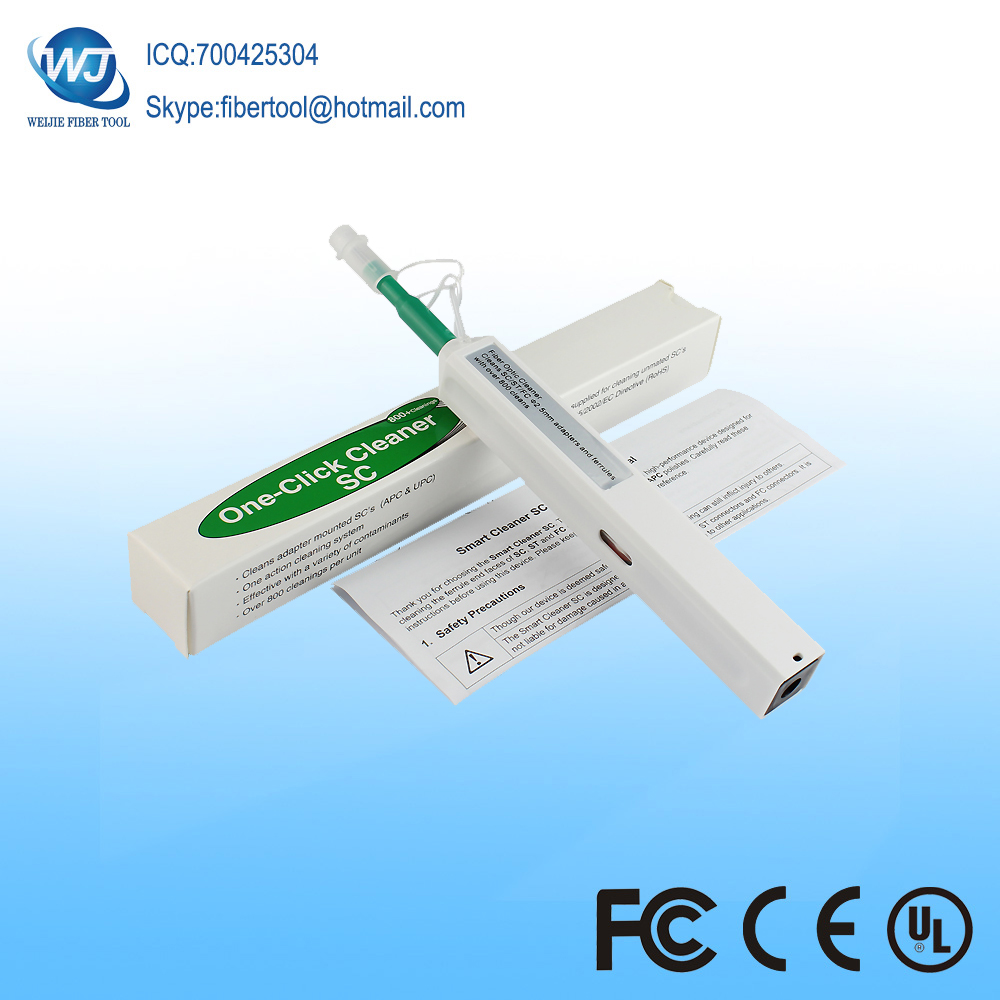 Fiber Optic Connector cleaning tool One-Click Fiber Optic Cleaner Pen 2.5mm SC Cleaning PenFiber Optic Connector cleaning tool One-Click Fiber Optic Cleaner Pen 2.5mm SC Cleaning Pen
