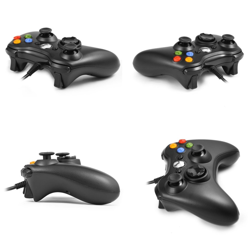 pc USB Wired Joypad Gamepad Controller For Microsoft for Xbox Slim ...