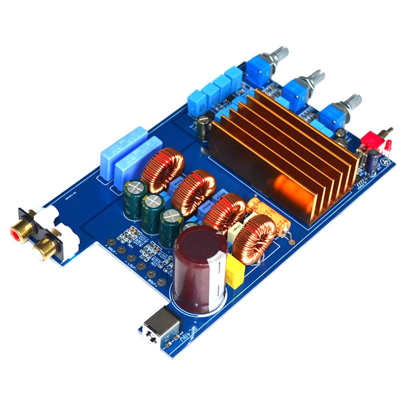 KYYSLB DC30V-48V <font><b>2.1</b></font> TPA3255 High Power Class D Fever HIFI Digital Power <font><b>Amplifier</b></font> Board 300W+150W+150W image