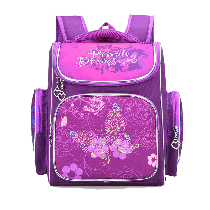 2019 New Girls School Backpacks Children School Bags 3D Butterfly Bag For Girl Kids Satchel Knapsack Mochila Escolar Grade 1 6|School Bags| |  - title=