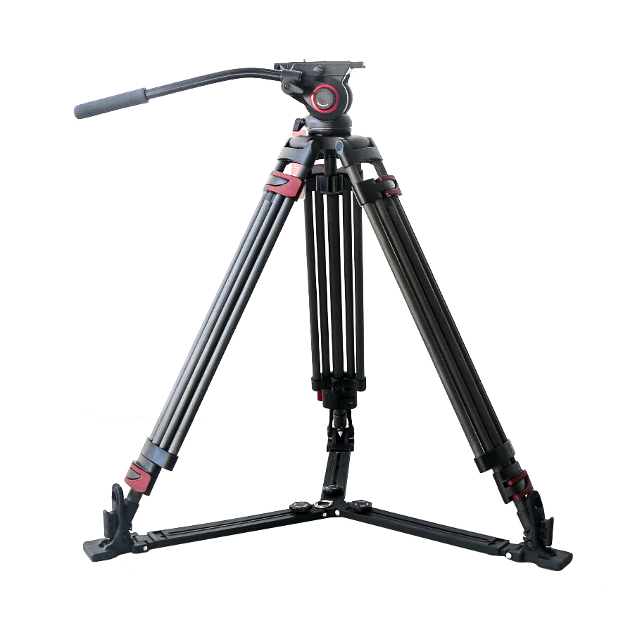 Miliboo Iron Tower MTT609B 15kg bear carbon fiber professional video Tripod MYT803 Fluid head VS manfrotto цена 2017