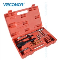 Damaged Glow Plug Removal Thread Repair Drill Wrench Spark Gap Tool Garage Kit Set