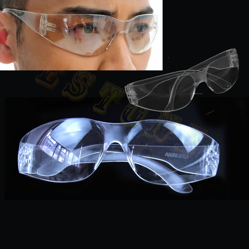New Useful Lab Medical Student Eyewear Clear Safety Eye Protective Anti-fog Goggles Glasses image