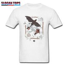 2019 Men T-shirt Toothless Tshirt Print How To Train Your Dragon T Shirt 3D Movie Retro Designer Tops Tees White Clothing 3XL