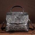 Оригинал личность руководство цвет кисти ретро старый кожаная сумка кожи высокого класса случайные сумки