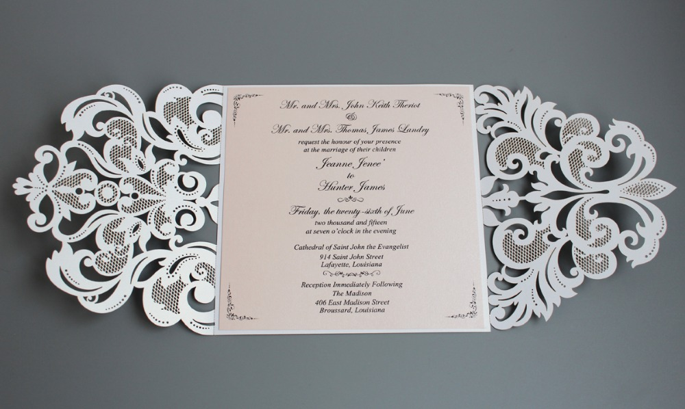 Where To Order Wedding Invitations In Lafayette La Mini Bridal