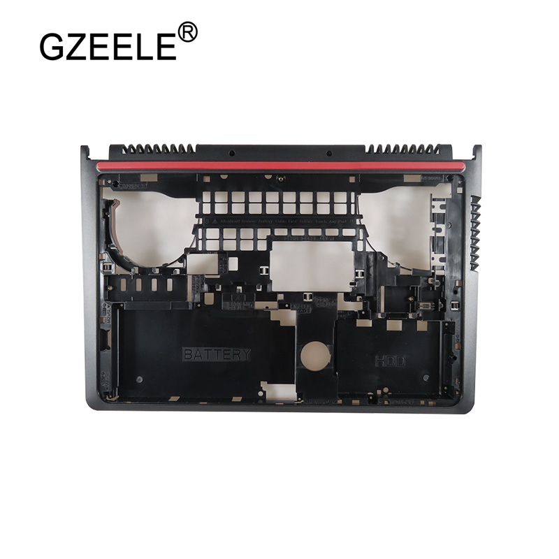 GZEELE New Bottom Base Case Cover for <font><b>DELL</b></font> <font><b>inspiron</b></font> <font><b>15</b></font> 7000 7557 <font><b>7559</b></font> Laptop T9X28 0T9X28 lower case <font><b>15</b></font> -7000 5577 5576 Assembly image