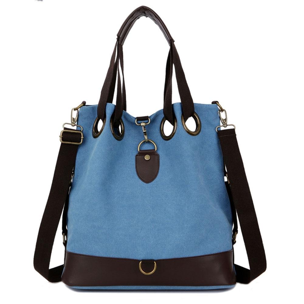 ФОТО Vertical Women Leisure Canvas + Leather Shoulder Crossbody Bag Popular Durable  Large Capacity Tote Travel Shopping Handbag