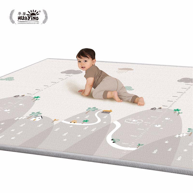 Bébé double face ramper antidérapant tapis doux enfants multi-fonction fitness exercice tapis enfant développer intelligence jouets tapis