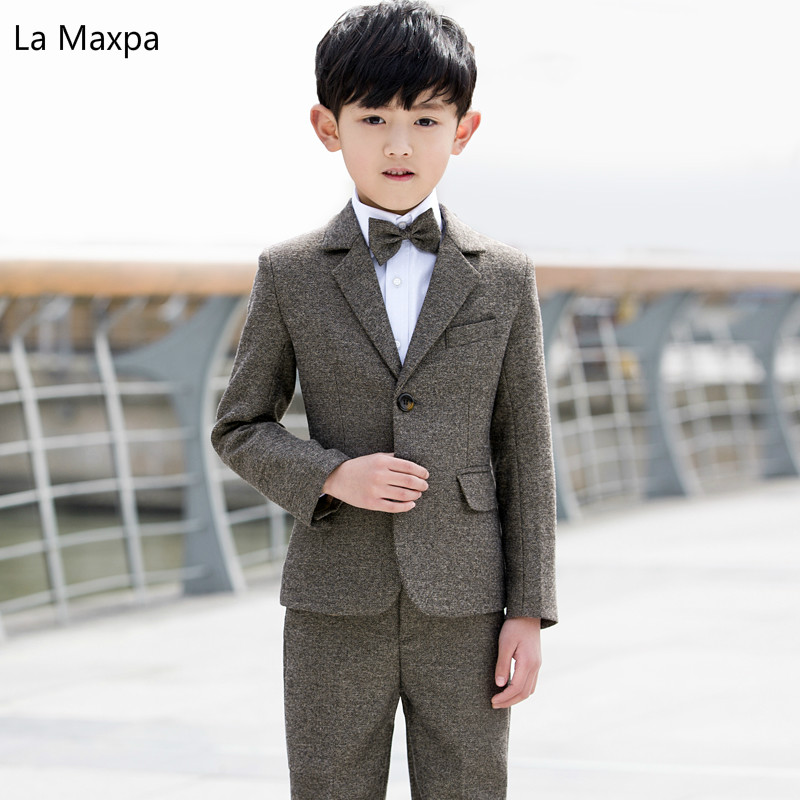 children suits birthday party wedding clothes piano show boys long sleeve  formal single breasted coat children s sets pants купить по лучшей цене 36f8a8504afd