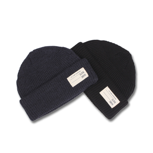 a7bd6ca67c9 USN WATCH CAP 80% Wool WW2 Replica Winter Warm Knit Thick Cap Vintage  Military Outdoor