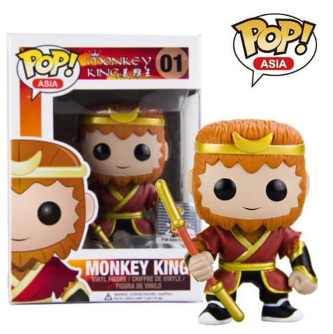 Funko pop Original Asia Hot TV Journey to the West Stone Monkey King Figure Collectible Vinyl Figure Model Toy with Original box
