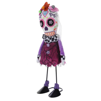 Halloween Standing Skull Soft Cloth Dolls Toy Creative Ornamentst Stuffed Filling Cotton Cloth Dolls Halloween Home Party Props 3