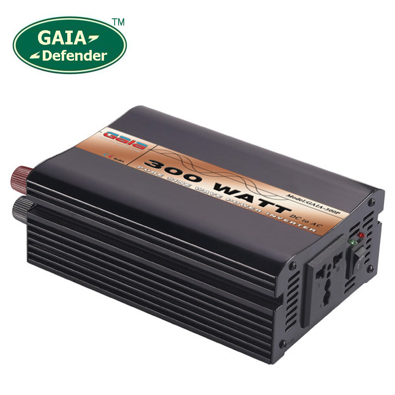 цена на 300W Pure Sine Wave Power Inverter Peak 1000w off-grid DC12V 24V 48V AC 100V 110V 220V 230V 240V solar wind battery car