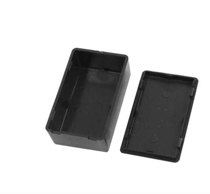 100x60x25 мм черный корпус для самостоятельного изготовления инструментов электрические принадлежности 1 шт. пластиковая электронная проектная коробка