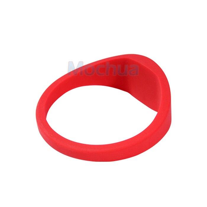 (3 Pcs/lot) Universal RFID Bracelet EM4100 125Khz Silicone Wristband Size Proximity For Access Control