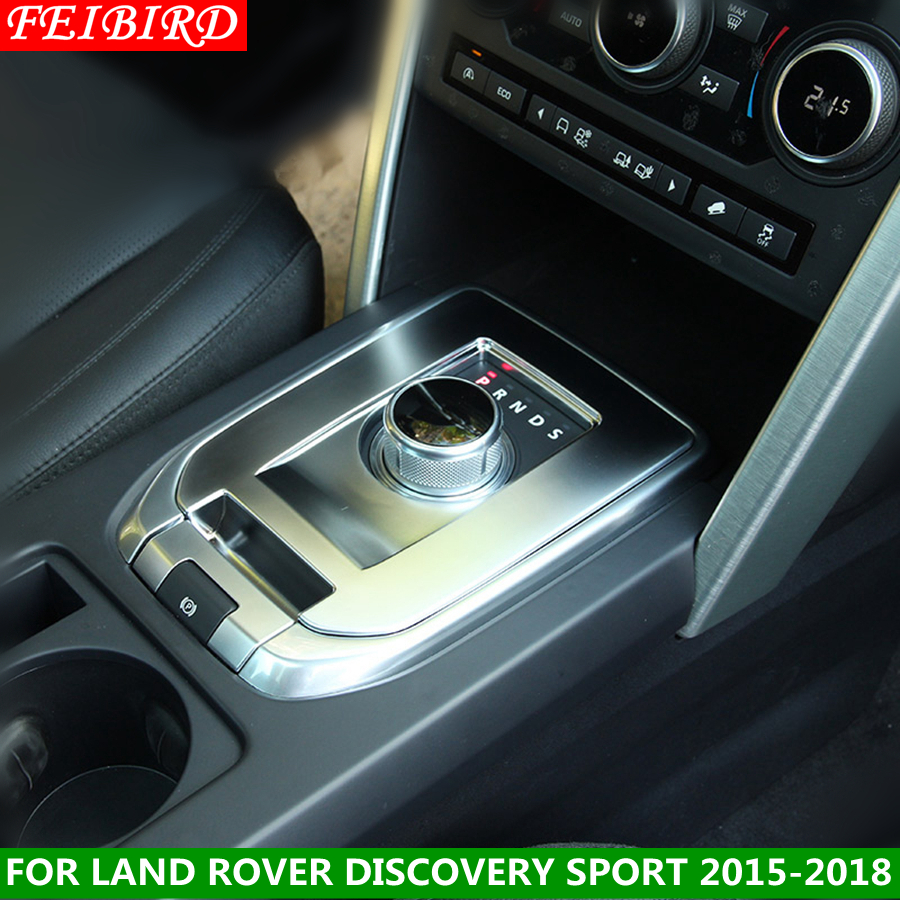 High Quality Transmission Shift Gear Panel Decorative Cover Trim For Land Rover Discovery Sport 2015 2016 2017 2018