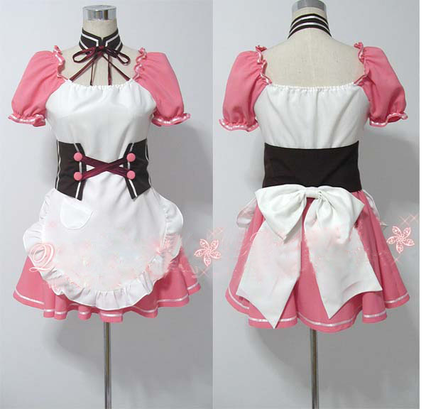 Suzumiya Haruhi no Yuuutsu Mikuru Asahina Cosplay Costume Custome Made Free Shipping