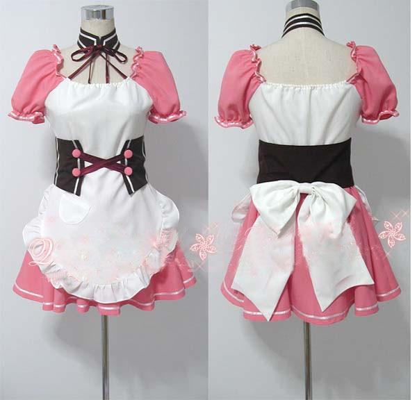 Suzumiya Haruhi no Yuuutsu Mikuru Asahina Cosplay Costume Custome Made Free Shipping