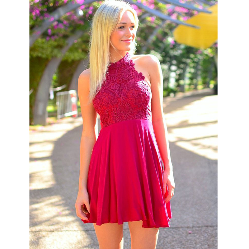 Compare Prices on Hot Pink Homecoming Dresses- Online Shopping/Buy ...