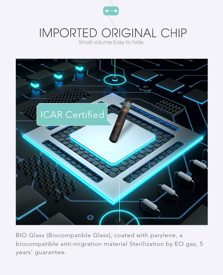 6 for Pet Tracking Chips