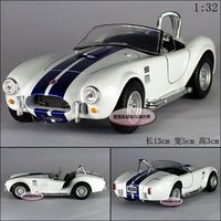 Candice Guo New Arrival Super Cool 1 32 Ford Alloy Model Car 1965 Shelby Cobra Toy