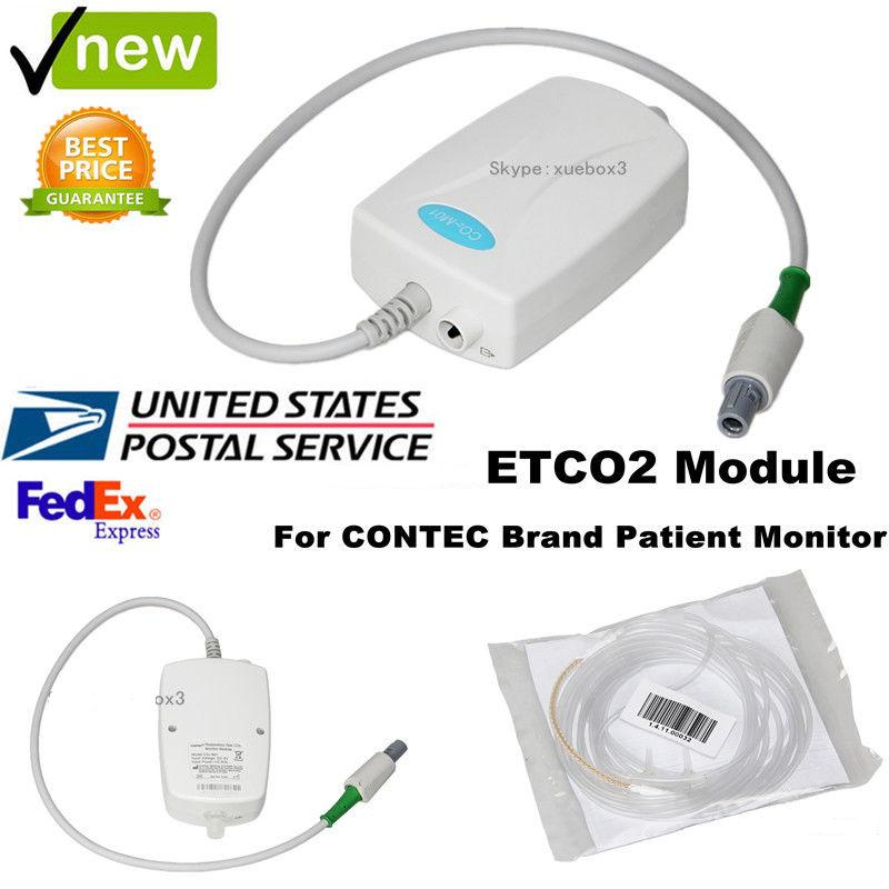 US,ETCO2 Module Respiratory Gas CO2 For Contec Brand Patient Monitor Vital Signs forCMS8000/7000