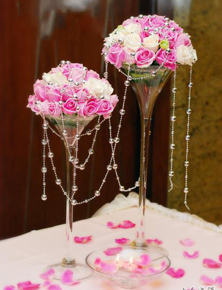 40cm high wedding decoration cocktail glass cup vasestable vases 40cm high wedding decoration cocktail glass cup vasestable vases goblet cup banquets vase freeshipping on aliexpress alibaba group junglespirit Image collections