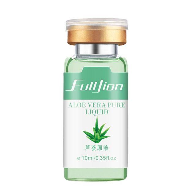 Crema Facial de esencia de Aloe Vera de 10 ml hidratante Gel nutritivo Control de aceite ilumina la cara suave blanquea la piel T77