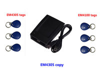 Free Shipping RFID 125Khz Copier Reader With Software ID Card Copy Writer 3pcs Copied EM4305 Tag