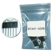 10 шт. BTA41-600B TO-3P BTA41-600 симисторов BTA41600 40A 600 вольт регулятор