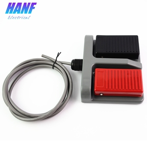 Image 3 - 1pcs momentary plastic foot switch infinity double pedal    duplex two way tumbler  3A/220VAC