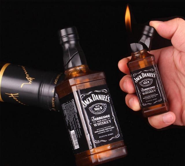 Wine Bottle Cigarette Lighter