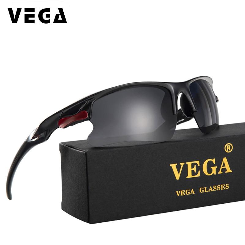 VEGA népszerű férfiak katonai napszemüveg polarizált sport napszemüvegek motoros járművezető számára Super Cool fényképezési napszemüveg 3106