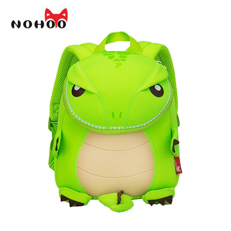 NOHOO Animals School Bag for Girls Backpack Waterproof Neoprene Kids Cartoon School Backpacks for Boys 16 Models nohoo tiger type neoprene backpacks