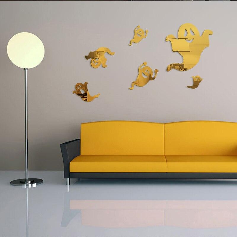 Ghost Halloween Wall Stickers Living Room Bedroom Children Room TV ...