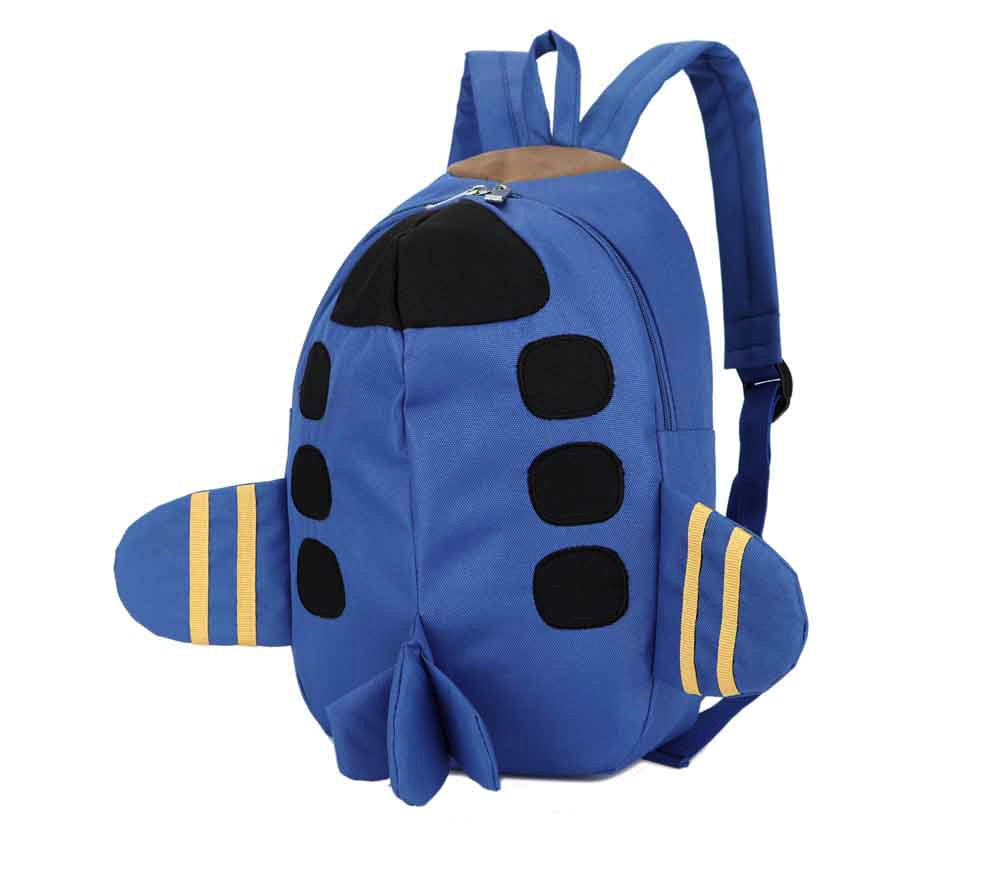 Popular Cute Kids Backpack For Baby Boys Girls Kids Plane Pattern Animals Backpack Toddler School Bag High Quality