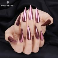 Rose Gold Mirror Nail Glitter Powder Gel Polish Chrome Pigment Dust Shinning Glitters Manicure Nail Art Decorations