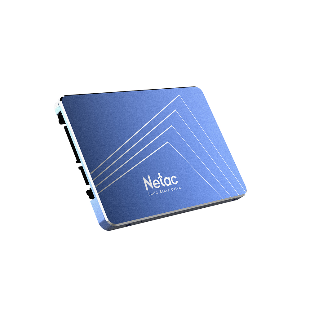Netac N610S SSD 120 240GB 2.5in SATAIII 6Gb/s Solid State Drive SLC Caching Algorithm with R/W Speed 500MB/s netac blue 360gb